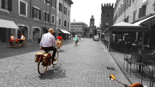 Ferrara, ciudad de bicicletas
