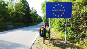 Slovenia frontera con Italia